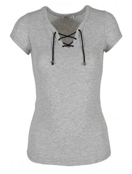 Дамска блуза 8002 сива