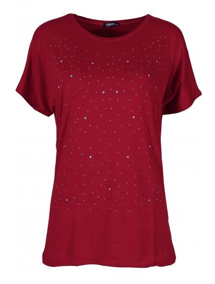 Дамска блуза BIG STAR  А-3 бордо