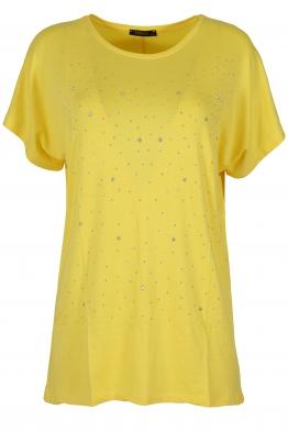Дамска блуза BIG STAR  А-3 жълта