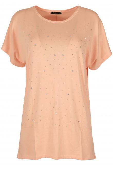 Дамска блуза BIG STAR А-3 ябълков цвят