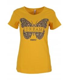 Дамска блуза DREAM горчица