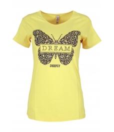 Дамска блуза DREAM млечно жълта