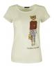 Дамска блуза LADY LEOPARD бяла