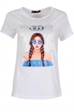 Дамска тениска МИРАНДА А-1 бяла