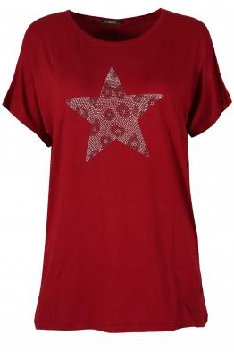 Дамска блуза BIG STAR  бордо