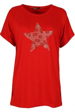 Дамска блуза BIG STAR  червена