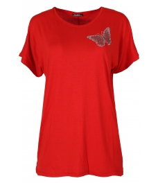 Дамска блуза BIG STAR А-1 червена