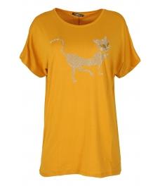 Дамска блуза BIG STAR A-2 жълта