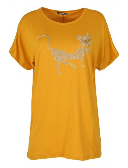 Дамска блуза BIG STAR A-2 горчица