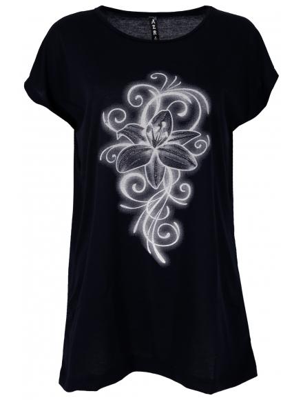 Дамска блуза EMMA тъмно синя