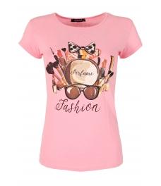 Дамска блуза PERFUME розова