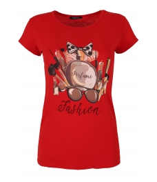 Дамска блуза PERFUME червена