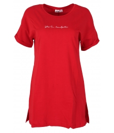 Дамска oversize блуза 8064 червена