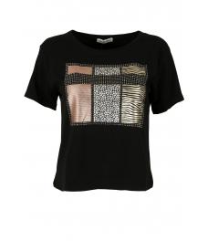 Дамска блуза Тиара черна