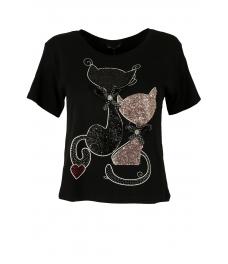 Дамска блуза CATS черна