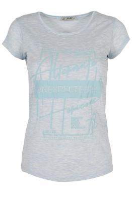 Дамска тениска АННА  C -1 бледо синя