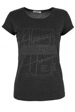Дамска тениска АННА  C -1 графит