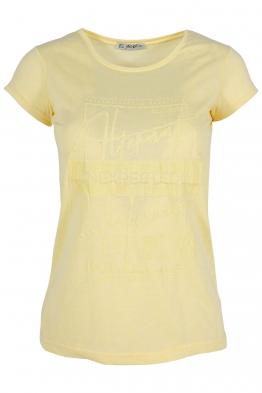 Дамска тениска АННА  C -1 жълта