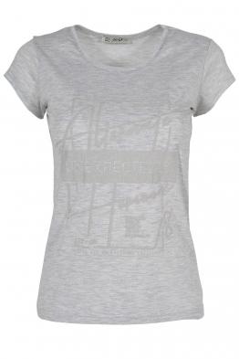 Дамска тениска АННА  C -1 сива