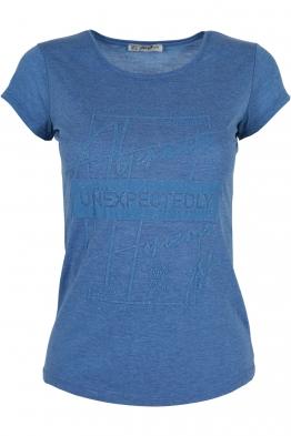 Дамска тениска АННА  C -1 синя