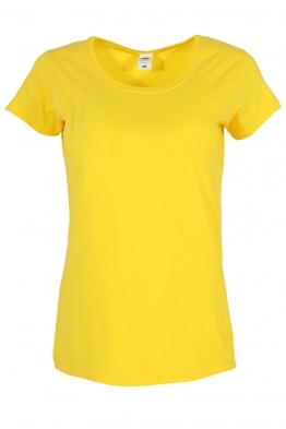 Дамска тениска FRUIT жълта