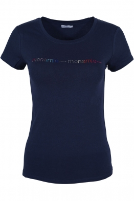 Дамска тениска MON AMIE тъмно синя