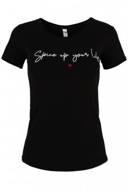 Дамска тениска SPICE черна