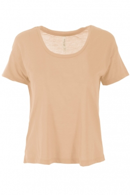 Дамска тениска 7608 пудра