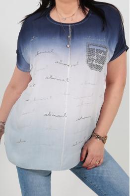 Дамска блуза 6A 126 синя