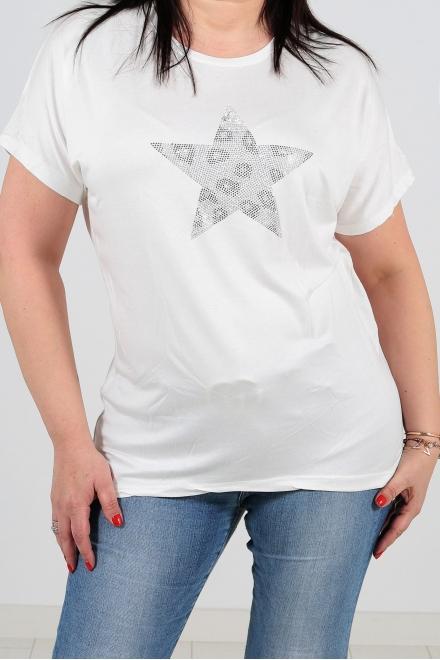 Дамска блуза BIG STAR  бяла