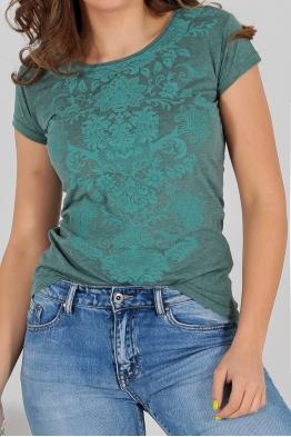 Дамска тениска АННА зелена