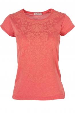 Дамска тениска АННА корал