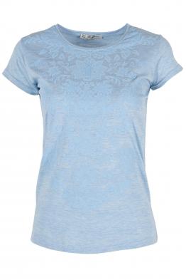 Дамска тениска АННА светло синя