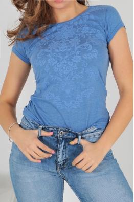 Дамска тениска АННА синя
