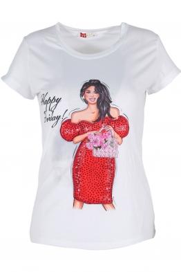 Дамска тениска 1509-11