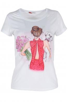 Дамска тениска 1509-4