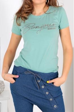 Дамска тениска BONJOUR резида