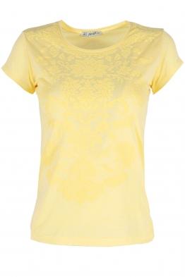Дамска тениска АННА жълта