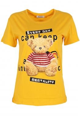Дамска тениска EVERY DAY жълта