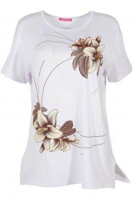 Дамска тениска MISS MELISA А-1 бяла