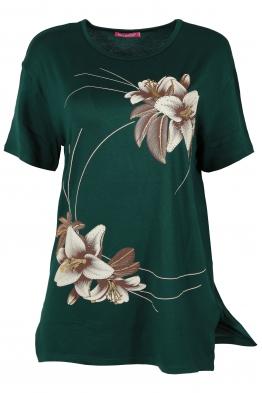 Дамска тениска MISS MELISA А-1 зелена