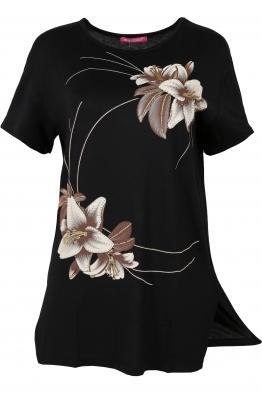 Дамска тениска MISS MELISA А-1 черна