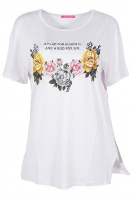 Дамска тениска MISS MELISA B-1 бяла