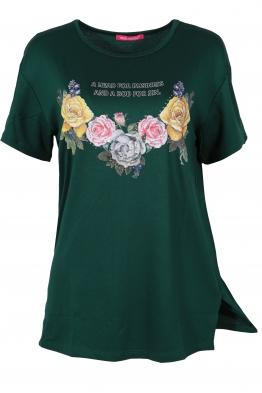 Дамска тениска MISS MELISA B-1 зелена