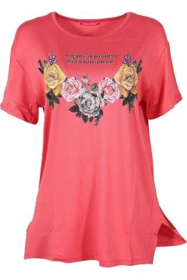 Дамска тениска MISS MELISA B-1 корал