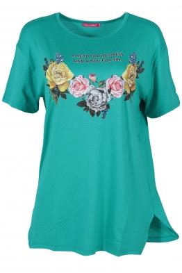 Дамска тениска MISS MELISA B-1 мента