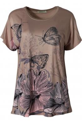 Дамска блуза LE 3783 бежова