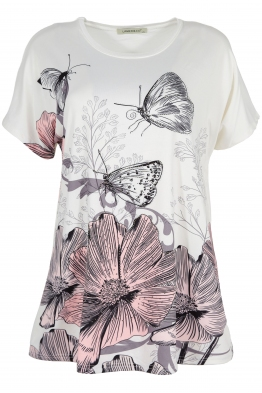 Дамска блуза LE 3783 бяла
