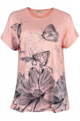 Дамска блуза LE 3783 розова