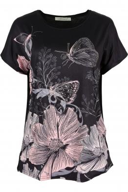 Дамска блуза LE 3783 черна